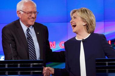 Сандерс ответил на заявление Клинтон о победе на праймериз
