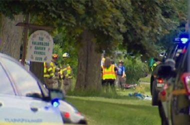 Жуткое смертельное ДТП: автомобиль въехал в толпу велосипедистов