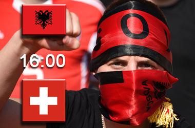 Онлайн матча Албания - Швейцария