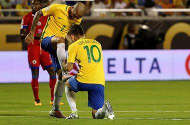 Бразилия разгромила Гаити на Кубке Америки