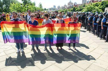 Марш равенства ЛГБТ-сообщества в Киеве поддержали в Раде