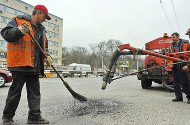 Где в Киеве сегодня ремонтируют дороги