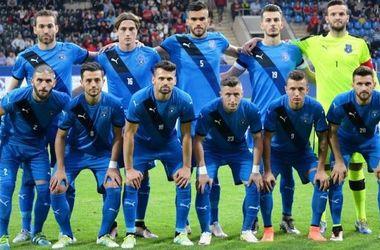 Сборная Косово включена в группу с Украиной в отборе на ЧМ-2018