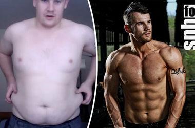 Британец похудел на 50 килограммов, стал моделью и попал на обложку известного журнала