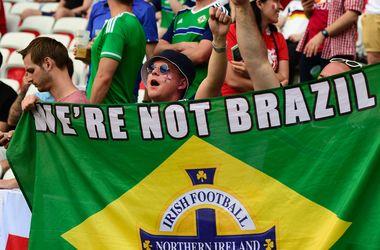 Евро-2016: Яркие кадры с матча Польша - Северная Ирландия