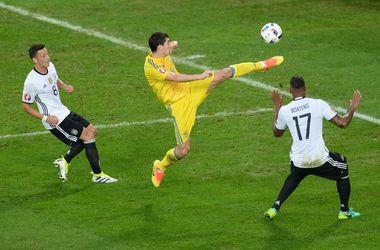Украина - Германия на Евро-2016: украинцы гордятся игрой команды в первом тайме