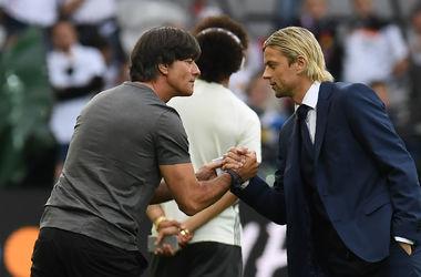 Евро-2016: тренер немецкой сборной установил рекорд в матче с Украиной