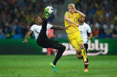 Евро-2016: яркие кадры битвы Германия - Украина