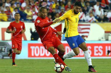 Бразилия проиграла Перу благодаря голу рукой и вылетела из Кубка Америки