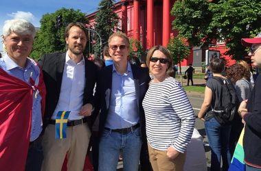 Как в Европе отреагировали на проведение Марша равенства в Киеве