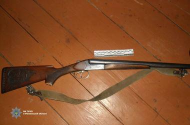 В Ровенской области застрелился отец 6 детей