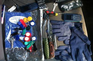 В Киеве поймали банду дерзких воров