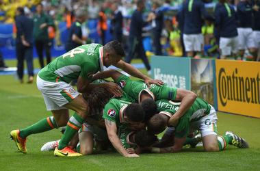 Евро-2016: Ирландия - Швеция - 1:1 видео голов