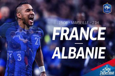 Евро-2016: онлайн матча Франция - Албания (фото, видео)