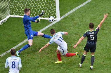 Евро-2016: Англия в компенсированное время обыграла Уэльс
