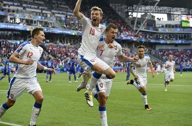 Евро-2016: Чехия ушла от поражения в матче с Хорватией, проигрывая в два мяча
