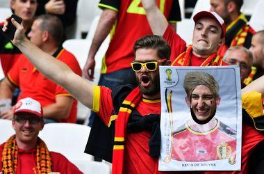 Евро-2016: Яркие кадры с матча Бельгия - Ирландия