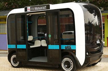 Будущее наступило: беспилотный автобус выедет на дороги уже в этом году