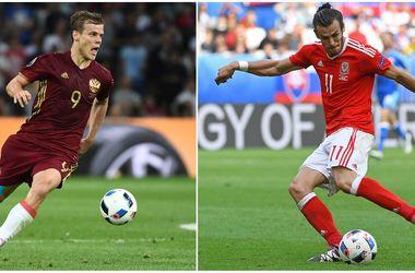 Евро-2016: онлайн матча Россия - Уэльс (фото, видео)