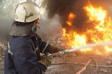 В Киеве из-за окурка горела жилая высотка