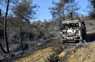 В США бушуют неслабые лесные пожары