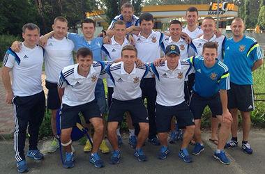 Сборная Украины по пляжному футболу отправилась на Кубок Европы