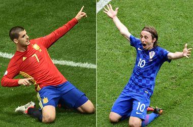 Евро-2016: где смотреть матч Хорватия - Испания