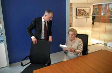 Борис Ложкин обсудил с Мадлен Олбрайт реализацию реформ в Украине