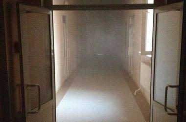 В центре Киева горела больница, пациентов эвакуировали