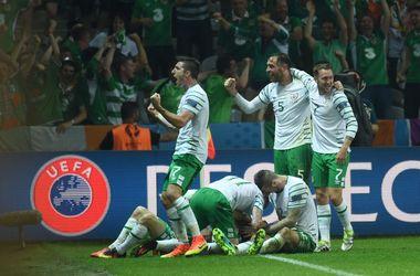 Евро-2016: яркие кадры матча Италия - Ирландия