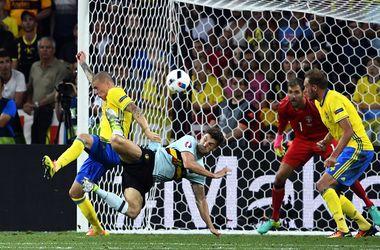 Евро-2016: Швеция - Бельгия - 0:1, обзор матча