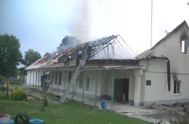 Под Харьковом горел детский сад