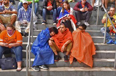 Полуфинал Кубка Америки прерывали на несколько часов из-за плохой погоды