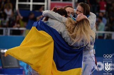 """Украинские фехтовальщицы завоевали """"бронзу"""" чемпионата Европы"""