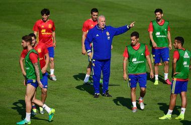 Евро-2016: игроки сборной Испании прошли внеплановую проверку на допинг