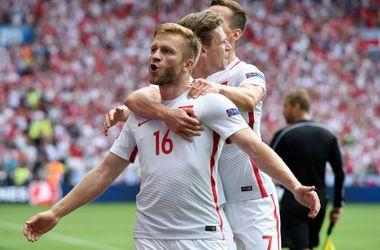 Евро-2016: сборная Польши  первой вышла в четвертьфинал
