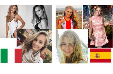 Мисс Евро-2016: Италия vs Испания – кто красивее?