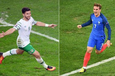 Евро-2016: онлайн матча Франция - Ирландия (фото, видео)