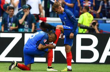 Евро-2016: Франция одержала волевую победу над Ирландией в 1/8 финала