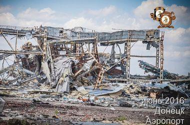В сети появились новые фото разрушенного Донецкого аэропорта