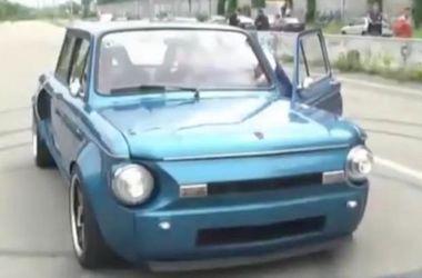 """Украинец превратил свой """"Запорожец"""" в мощный дрифт-кар, разгоняющийся до 180 км/ч"""