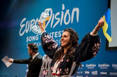 <p>Джамала выиграла конкурс для Украины. Фото<span>eurovision.tv</span></p>