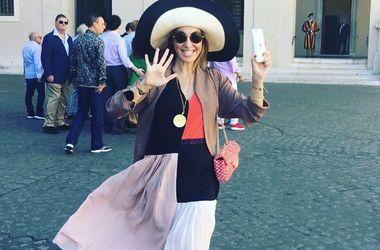 Ксения Собчак в модном купальнике за 1200 гривен ответила на критику (фото)