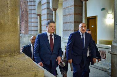 """Порошенко в Болгарии осудил """"Северный поток - 2"""""""