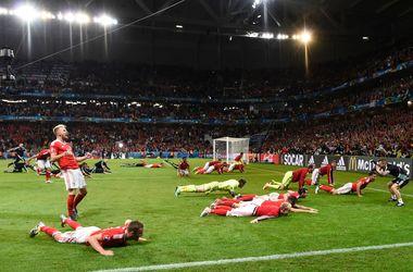 Евро-2016: Уэльс - Бельгия - 3:1, обзор матча