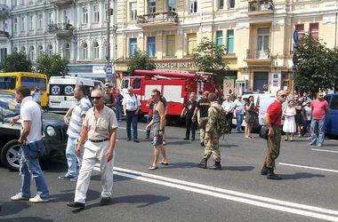 Перекрывшие Крещатик протестующие обратились к ГПУ