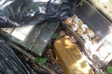 Под Харьковом найден тайник с оружием и боеприпасами