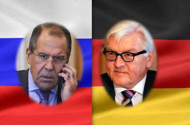 После продления санкций Лавров и Штайнмайер провели разговор