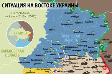 """Самые """"горячие"""" точки Донбасса 2 июля: интерактивная карта боев и обстрелов"""