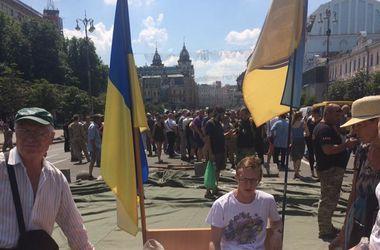 """Дело """"айдаровца"""" Лихолита: протестующие решили наведаться домой к Порошенко"""